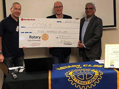 Thanks Rotary Doncaster